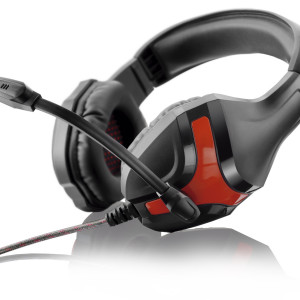 Fone De Ouvido Headset Gamer Red