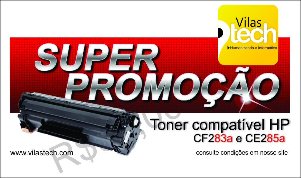 Toner compatível HP 85a e 83a – Promoção