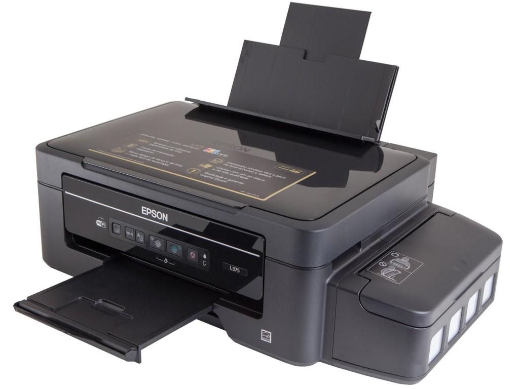 Impressora Epson com Tanque de Tinta Eco Tank Bulk ink L220 L375 L365