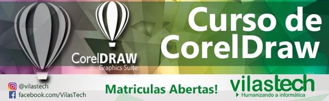 CURSO COREL DRAW – Um estúdio artístico completo.