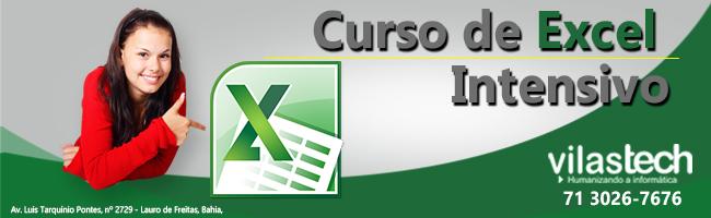 CURSO DE EXCEL INTENSIVO